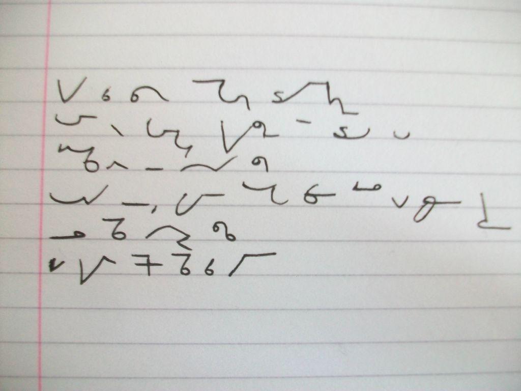 Free Teeline shorthand lesson