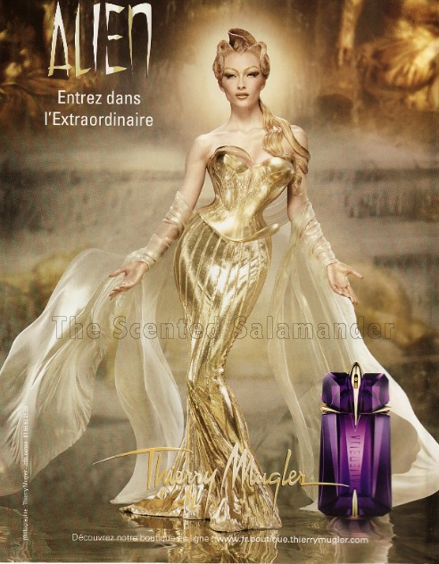 Thierry Mugler's Alien, Angel and Womanity (2/6)