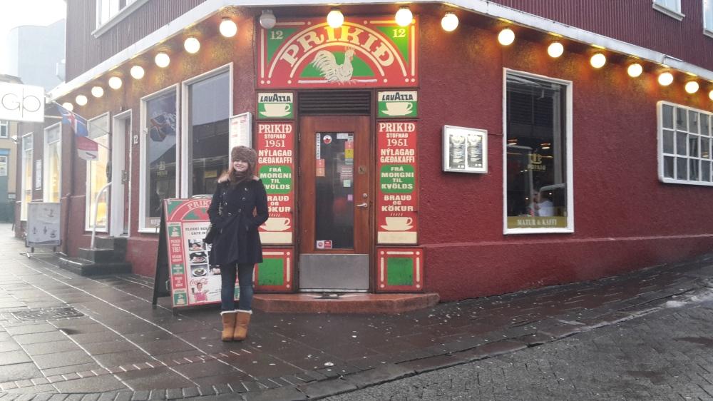 Prikið café, Reykjavik