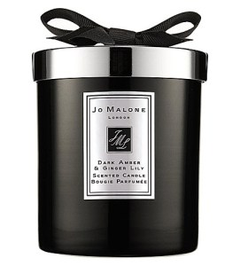 Jo Malone Dark Amber & Ginger Lily Candle