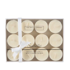 The White Company Seychelles Tealights