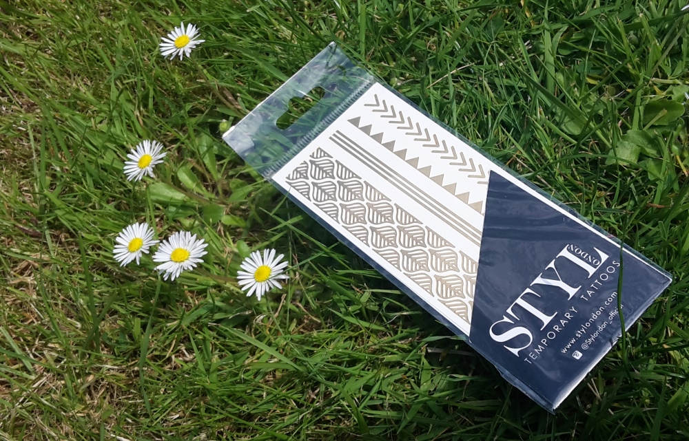 STYLondon Temporary Metallic Tattoos Birchbox June 2015