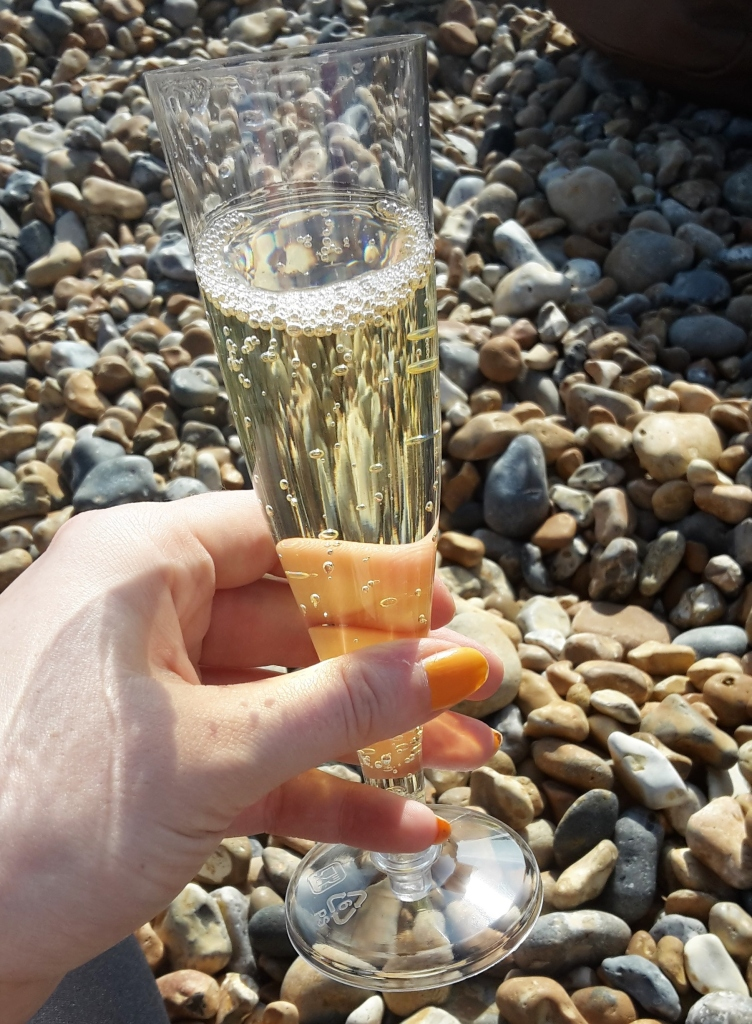 Cava on Brighton beach