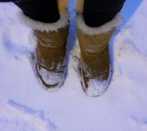 Ugg boots in Reykjavik