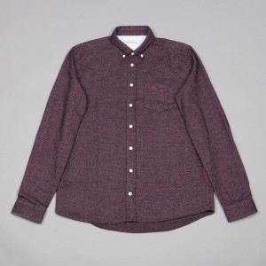 Libertine Libertine Chinese red overshirt