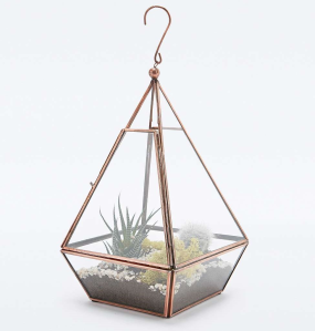 Copper terrarium from Urban Outfitters