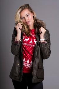 Jolly retro Nordic Christmas t-shirt