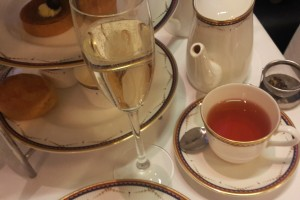 Afternoon tea at the Waldorf, Covent Garden