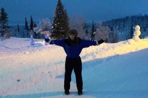 Kayleigh Tanner in Pallas, Finland