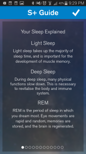 S+ sleep tips