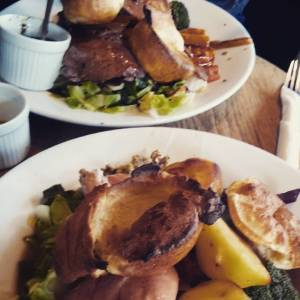 Sunday roast lunch at The Foundry, Brighton