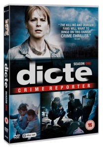 Dicte - Crime Reporter season 1 DVD