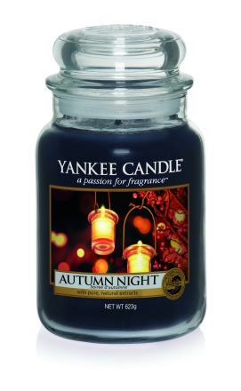 Yankee Candle Harvest Time Autumn Night candle
