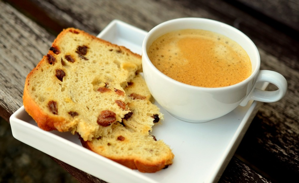 Coffee and cake for fika