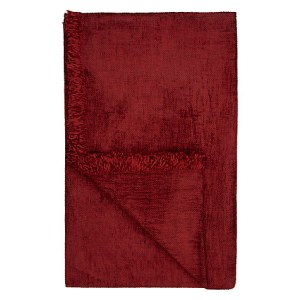 John Lewis mulberry chenille throw