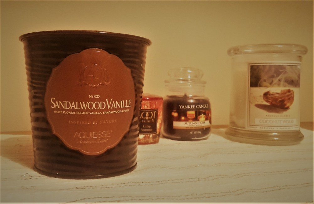 Scented candles from Love Aroma