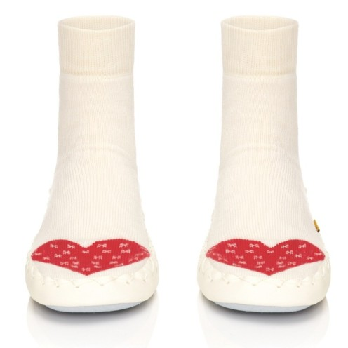 Moccis Swedish slipper socks in Warm Heart