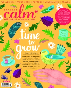 Project Calm magazine issue 3 cover