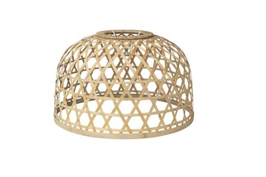 Bamboo basket shade from Abode Living